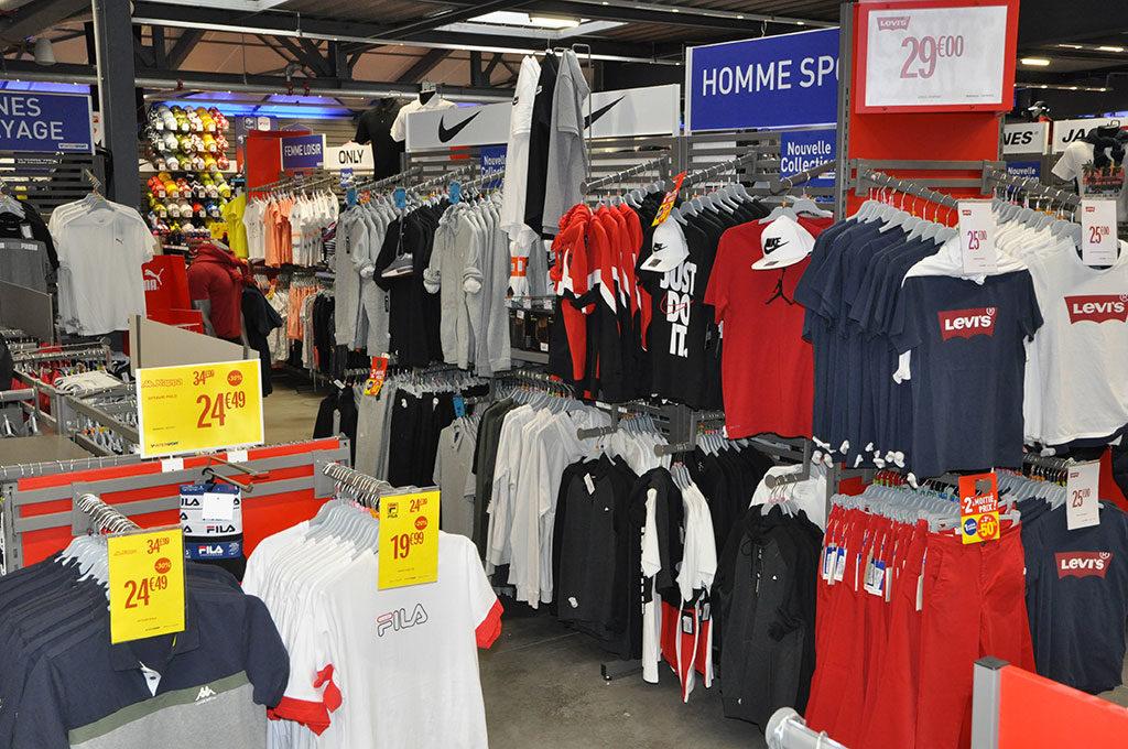 Intersport Oléron, vêtements de sport, sportswear