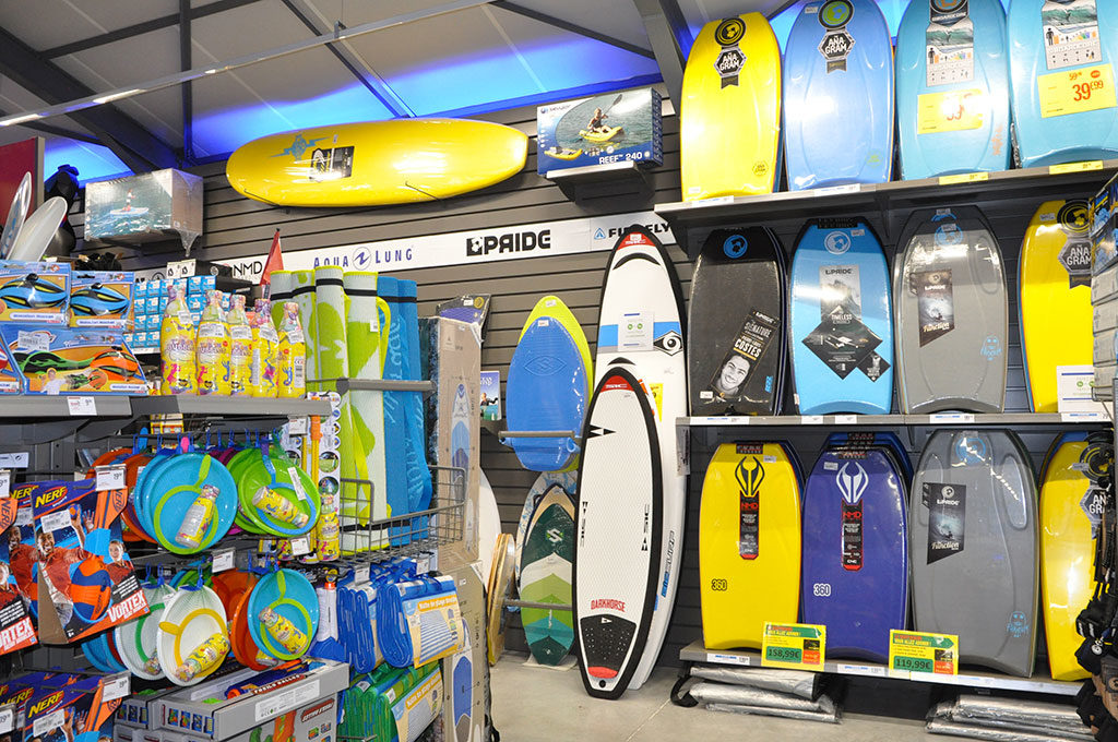Intersport Oléron, surf, body-board, sports nautiques