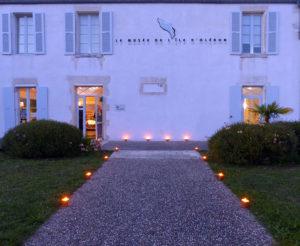 Le musée de l'île d'Oléron, la nuit