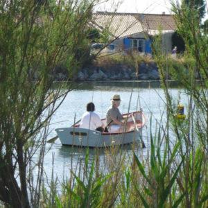 Apéro barque - Port des Saline. Ile d'Oléron