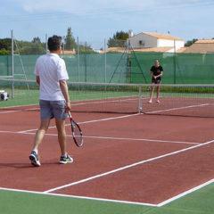 La Raquette Cayenne. Tennis club des Saint-Pierre d'Oléron