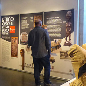 Visage en terre, animation au Musée de l'île d'Oléron