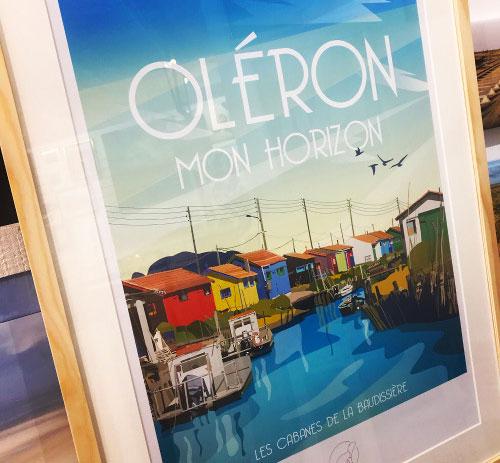 Cartes postales, affiches île d'Oléron