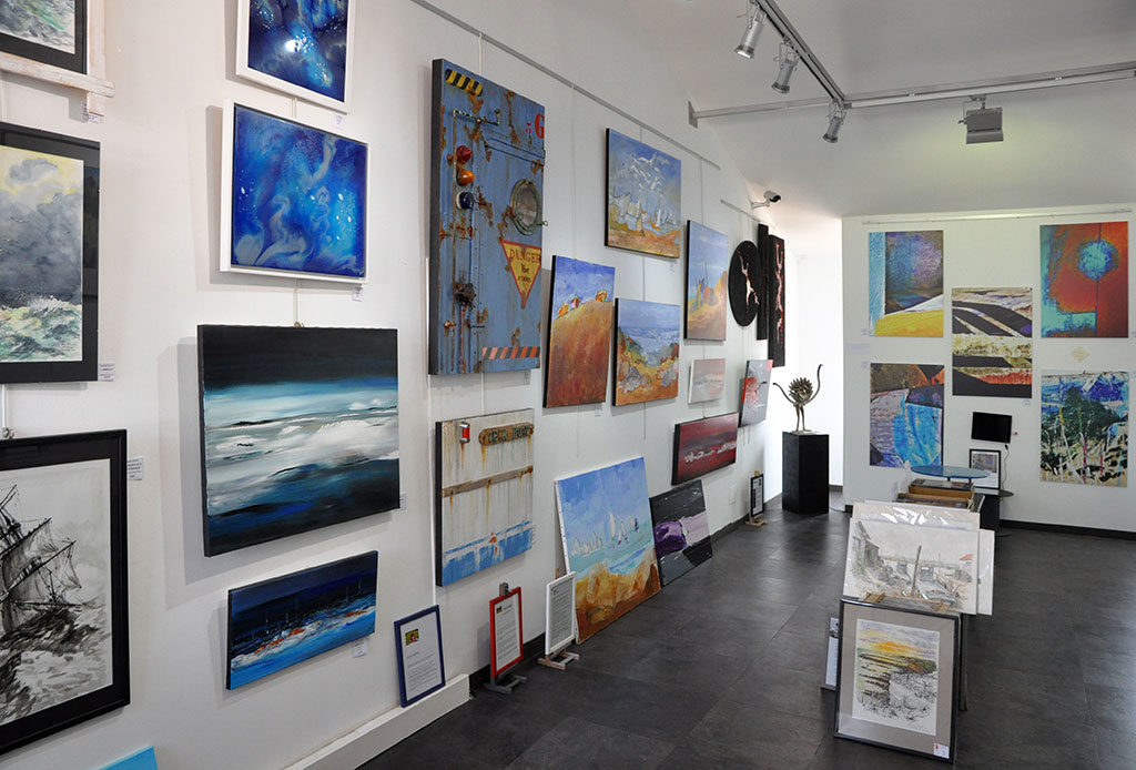 Galerie d'art du 1er à Oléron, la Cotinière