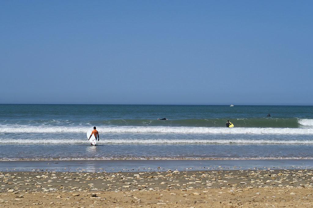 Plage des Allassins Oléron - surf