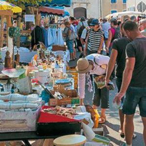 marchés brocantes Marennes et Hiers-Brouage