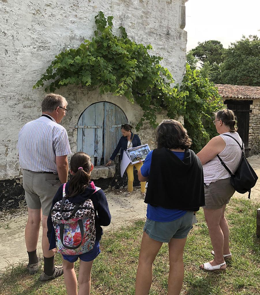 Maison Eco-paysanne : visite commentée