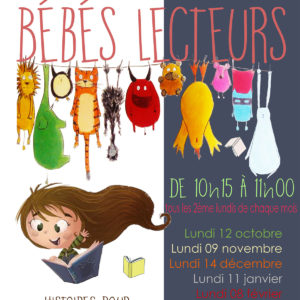 Bébés lecteurs, médiathèque de St Pierre d'Oléron