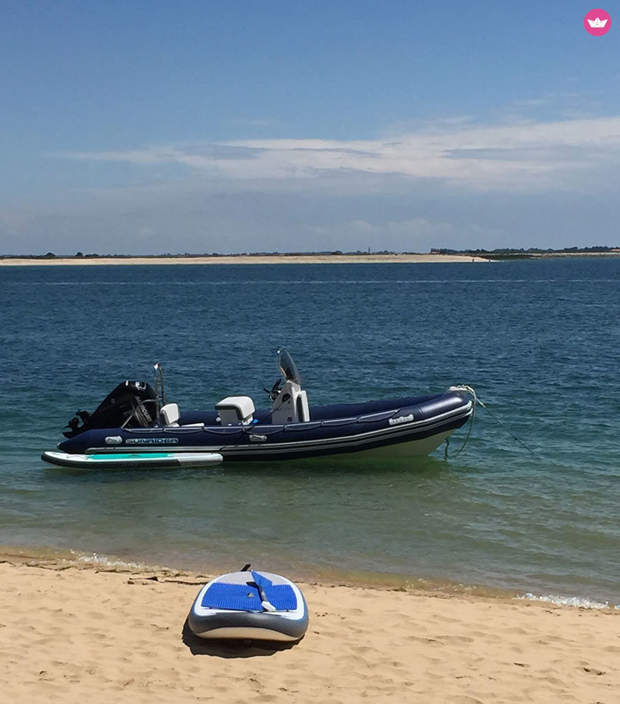 Location bateau semi-rigide île d'Oléron, Charente-Maritime