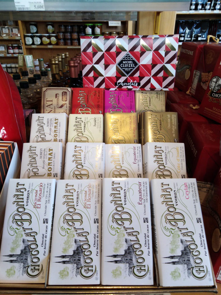 Epicerie fine île d'Oléron, Chocolats