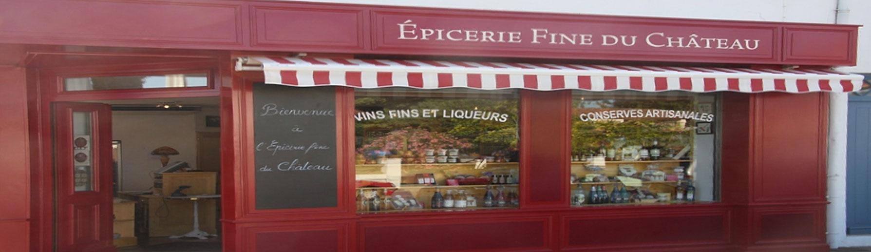 Épicerie fine du Château, île d'Oléron,