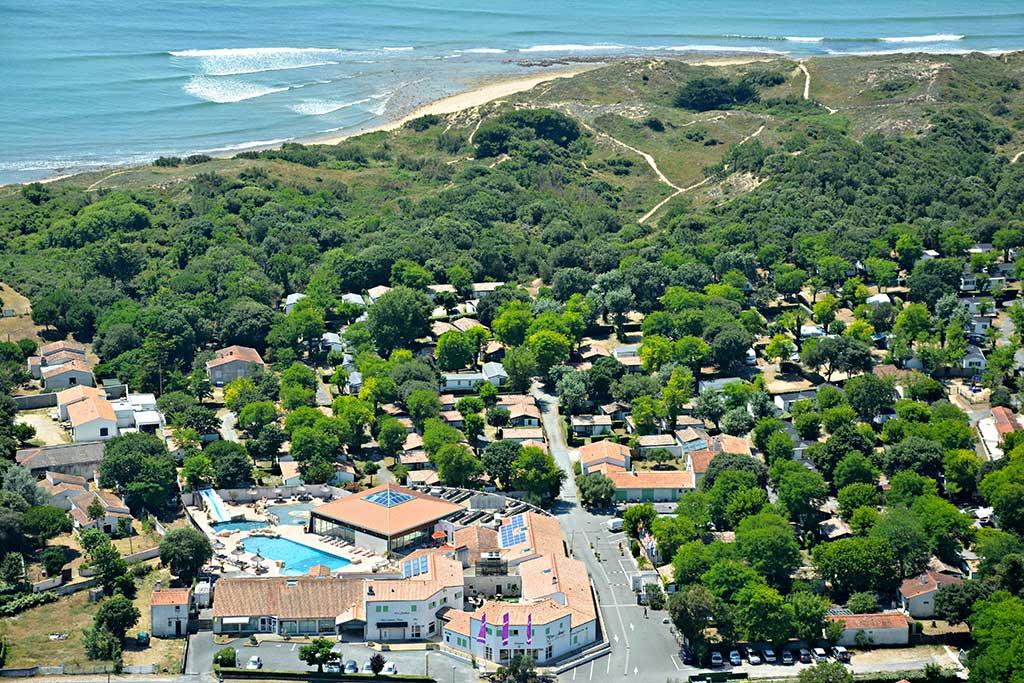 Camping les Gros Joncs et plage St Georges d'Oléron