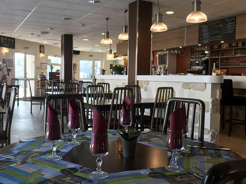 Restaurant et bar, la Jonchaie, île d'Oléron