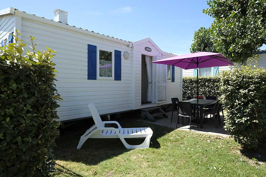 Camping le Maine location mobil-home Oléron