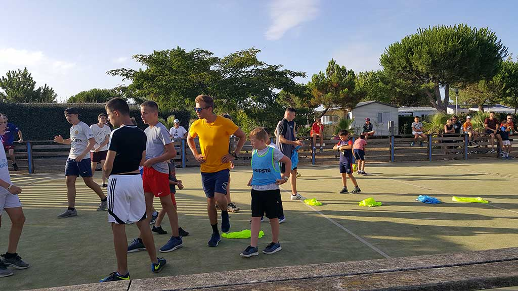 Camping les 4 Vents Oléron, animations sportive