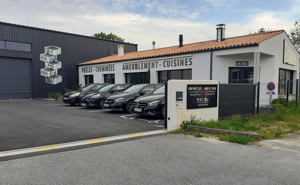 Eden Port et Made Ile showroom à Dolus d'Oléron