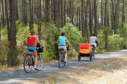 Louer un vélo, remorque sur île d'Oléron