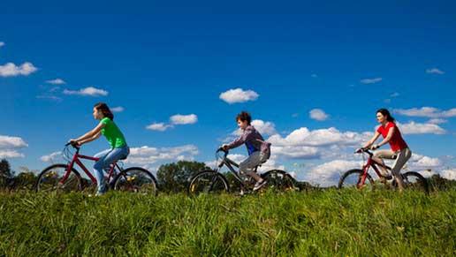 découvrez les pistes cyclables d'Oléron