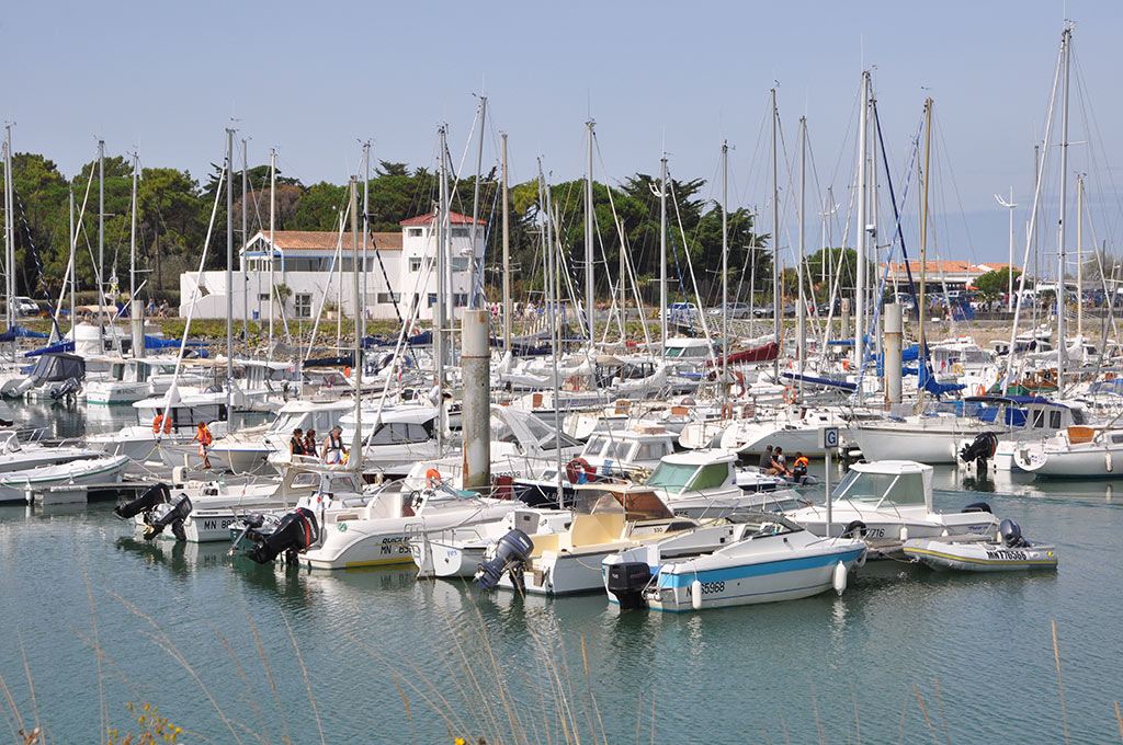 port de plaisance du Douhet