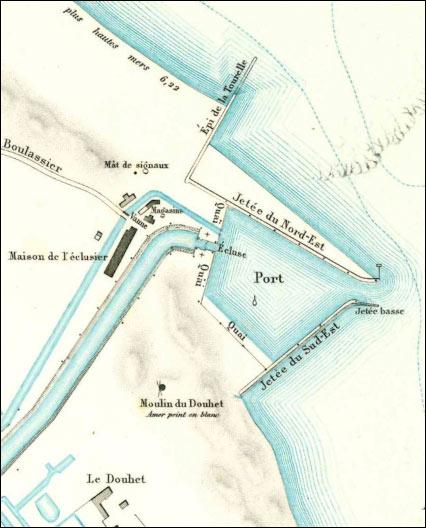 Notice sur le port du Douhet – 1885 - Ile d'Oléron