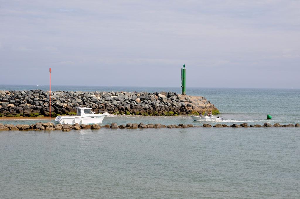 Entrée du port du Douhet - Ile d'Oléron