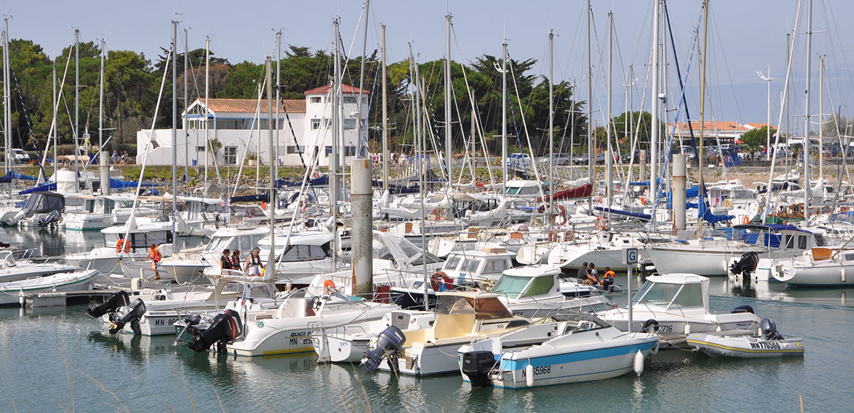 Port de plaisance du Douhet. Ile d'Oléron