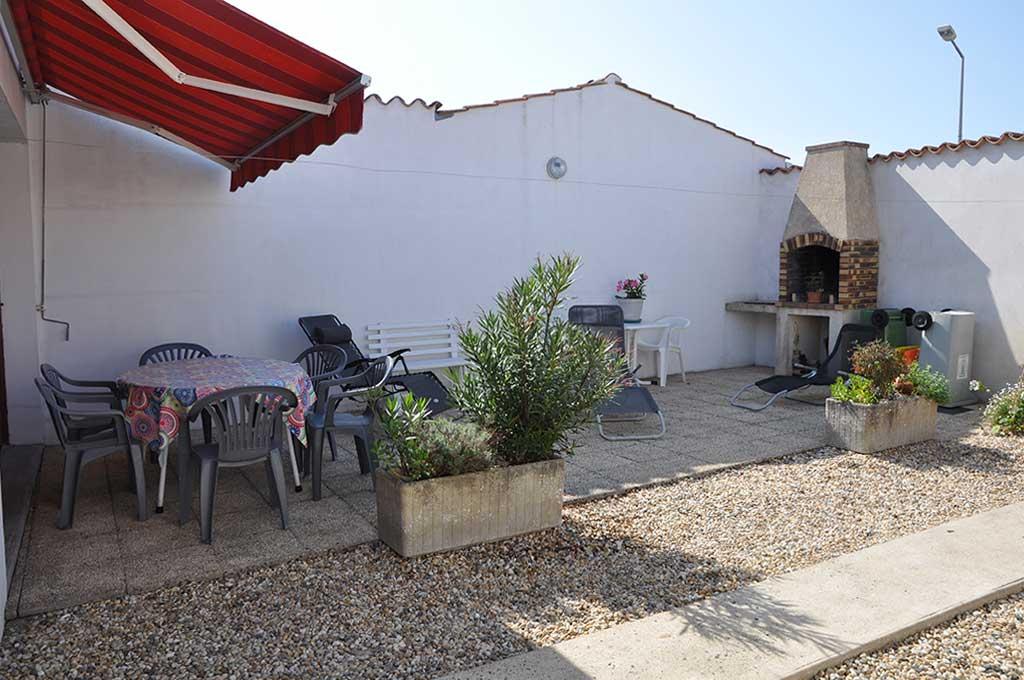 Location Picard maison C, terrasse