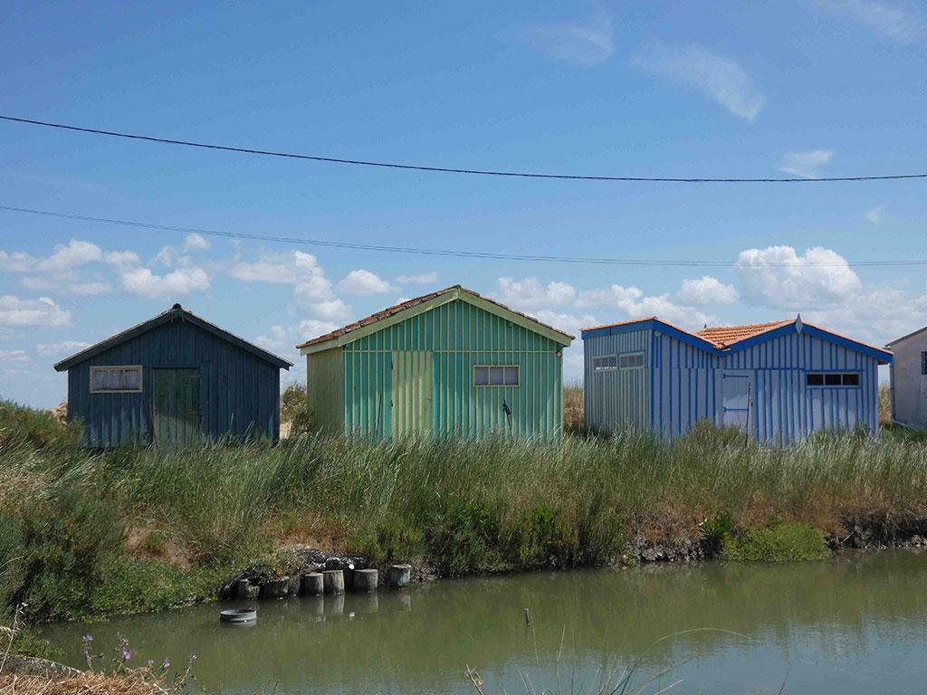 Fort Royer, cabane ostréicole et claire à huitres
