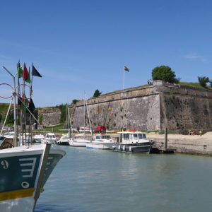 Citadelle et port du Château d'Oléron
