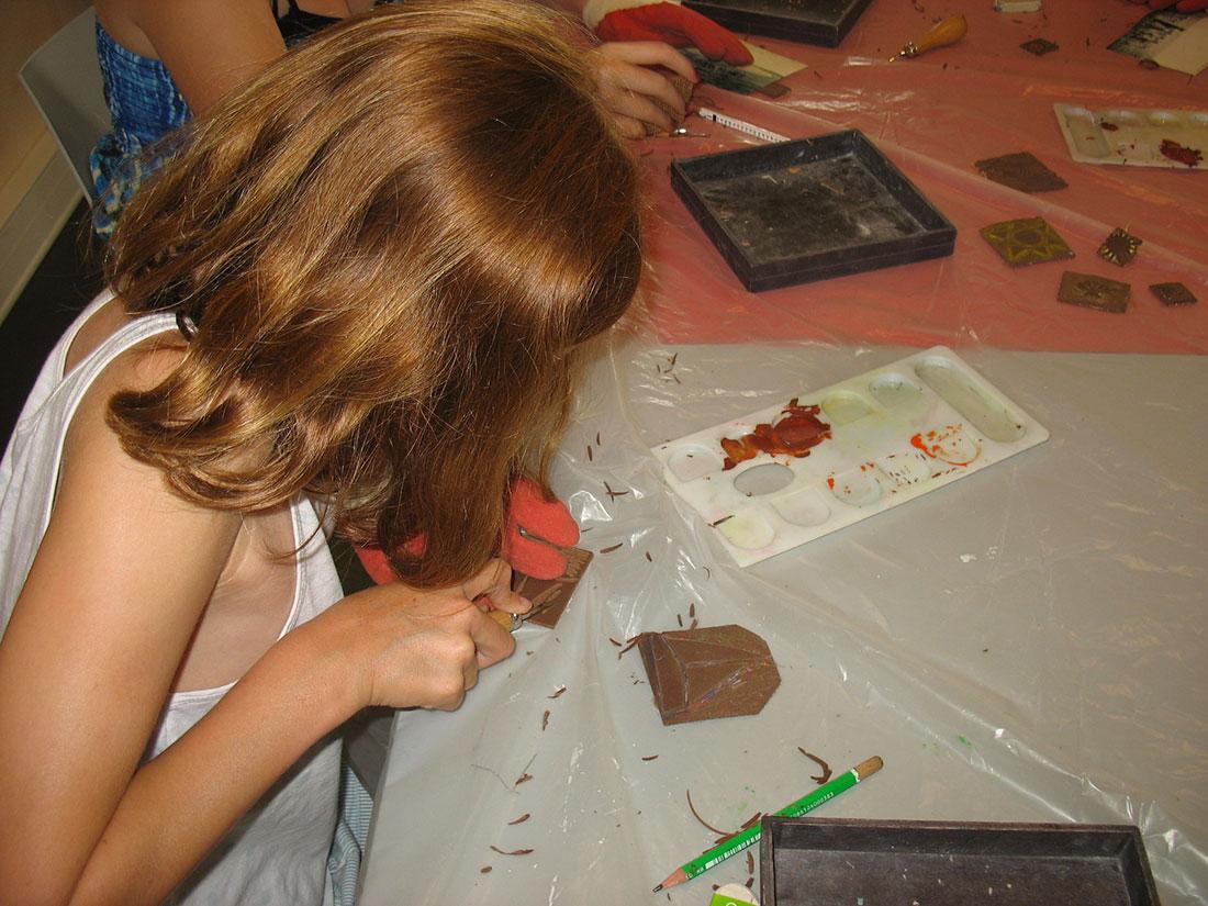 Musée de l'île d'Oléron : atelier le petit illustrateur