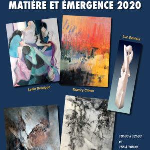 Exposition Matière et Emergence au Château d'Oléron