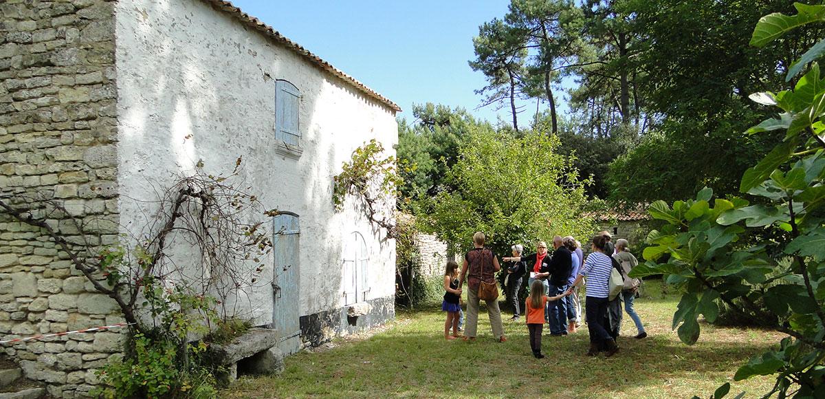 La Maison éco-paysanne, île d'Oléron, Grand Village