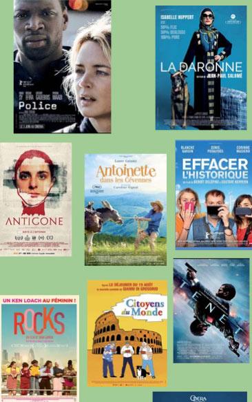 Programme cinéma Eldorado île d'Oléron et Estran Marennes