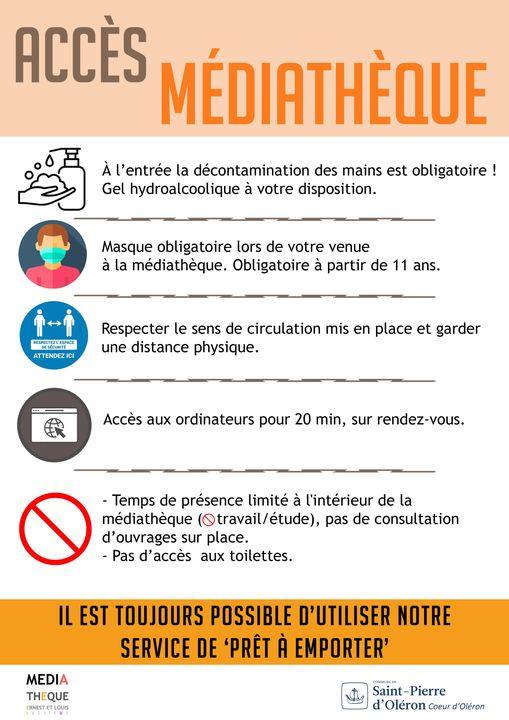 Ouverture médiathèque de St-Pierre d'Oléron