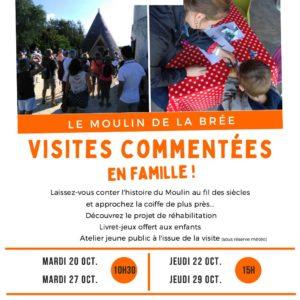 Visite commentée du moulin de la Brée - Ile d'Oléron