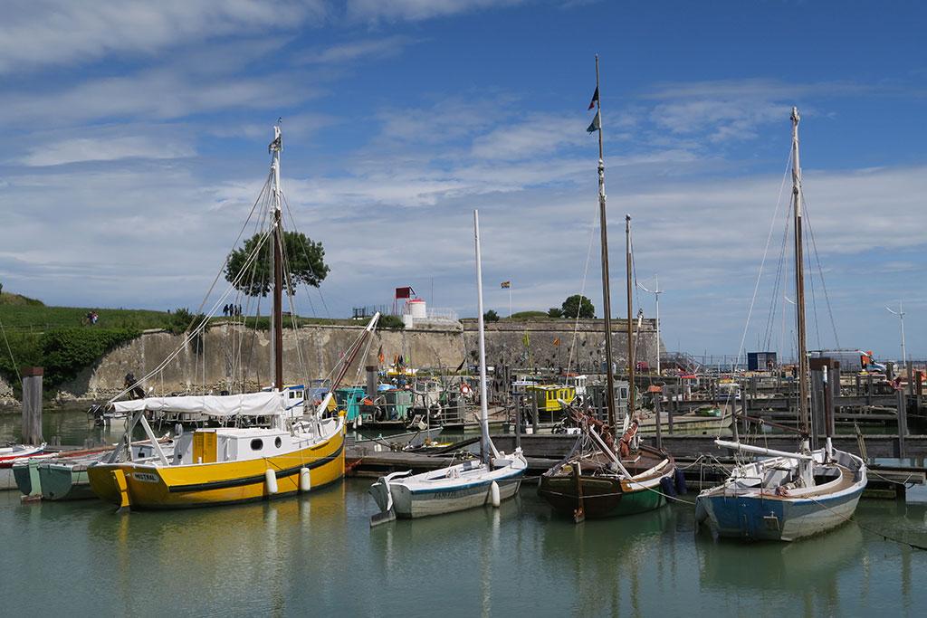Port du Château. Vieux gréements
