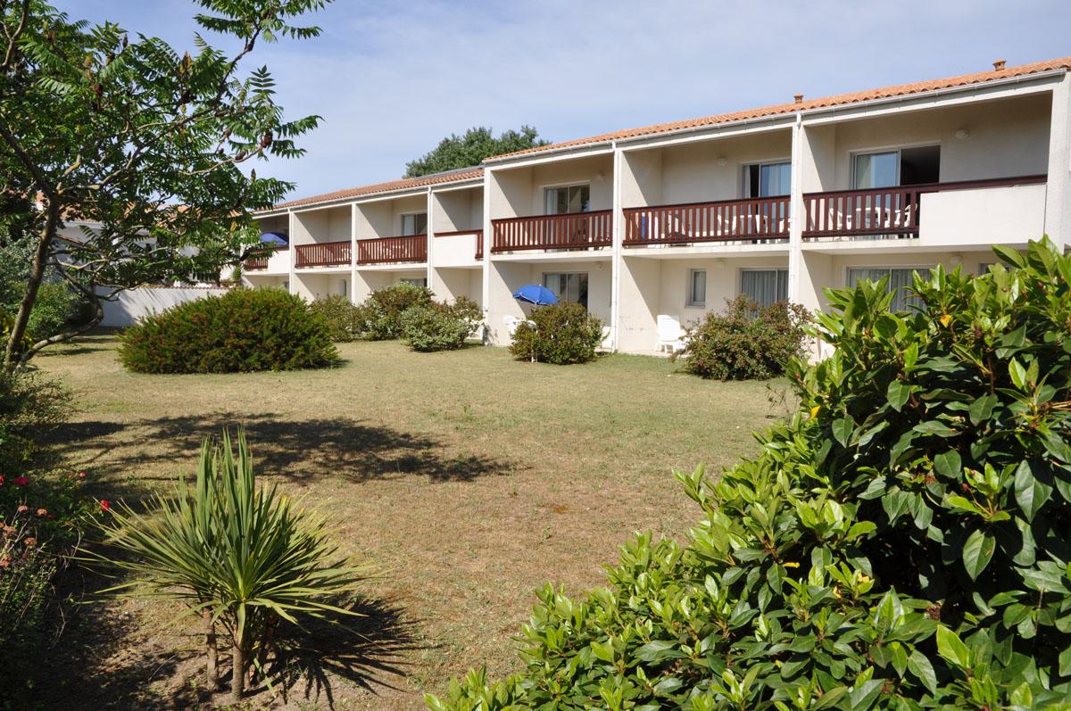 Hotel Océane île d'Oléron, le parc