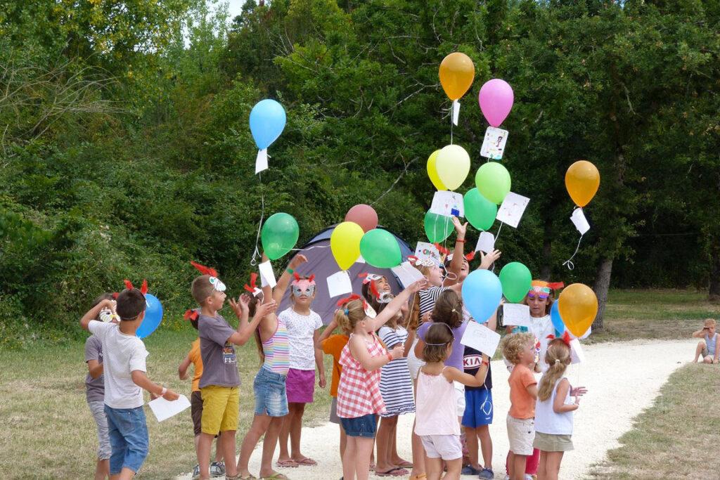 Club enfants au camping le Transat