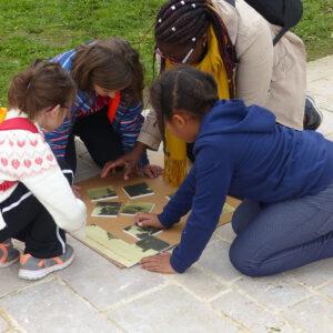 Atelier au Musée de l'île d'Oléron : Mystère ur la ville
