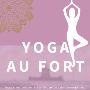 Yoga à Fort Louvois