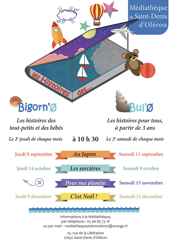 Animations médiathèque de St-Denis