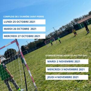 Stage multi sports organisé par Oléron Handball